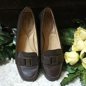 Strictly Comfort leather loafers size 8m